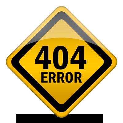 Erreur 404 - Fichier introuvable